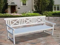 white wood bench treenovation