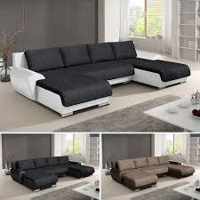 wohnlandschaft eckcouch ecksofa otis big sofa mit schlaffunktion u form