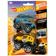 100 Hot Wheels Truck Monster S Set Of 2 Assorted
