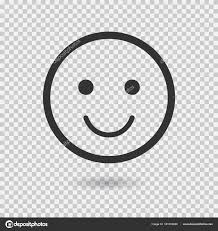 Smile Vector Icon Emoji Emoticon Flat Face Illustration With Shadow On Transparent Background For Web Or App By MaximStepanov
