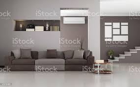 beige und braun modernen wohnzimmer stockfoto und mehr bilder beige