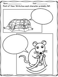 Fables The Lion And Mouse Worksheets