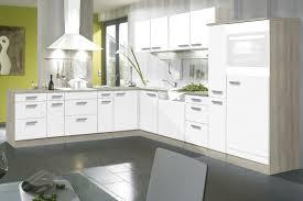trendige l küche 280x300 cm weiss matt akazie nb optikult genf