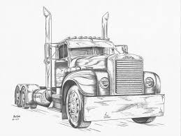 Monster Truck Drawing Side View