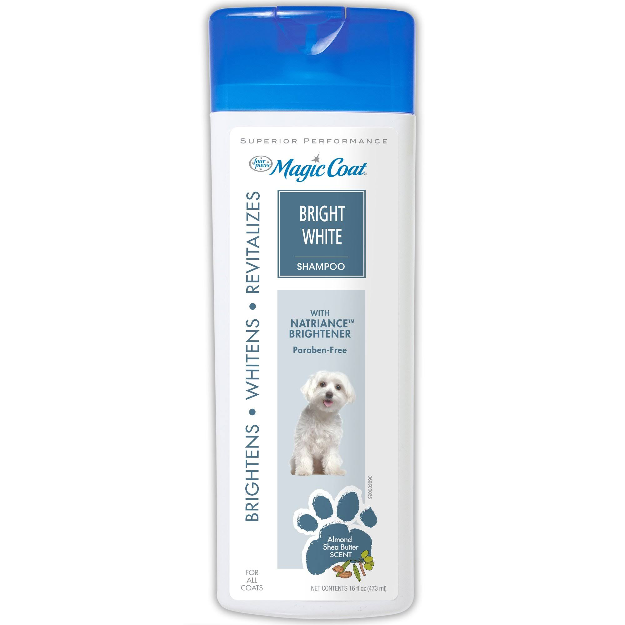 Four Paws Magic Coat Dog Grooming Shampoo - Bright White