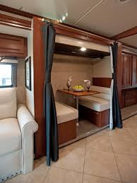 Take The Rv Tour Decorating And Design Ideas For Interior Sale Class With Bunks Slide Out Kansas Used Campers Bunk Beds About Motorhomes On Travel Trailer
