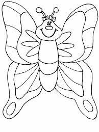 Coloring Sheets For Preschool Butterfly Pages