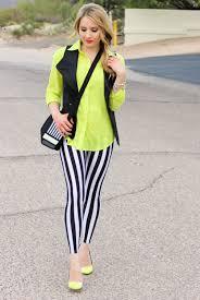 mixed prints neon polka dots with black u0026 white stripes
