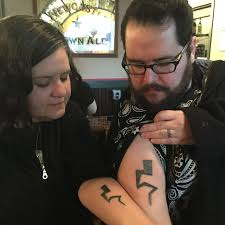 sibling tattoos my sister and i with the recurring lightning bolt