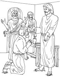 Jesus Appears To The Disciples Coloring Page