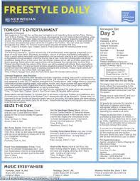 Norwegian Epic Deck Plan 11 norwegian epic freestyle daily cruise with gambee