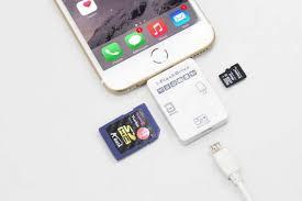 i FlashDrive II Memory Card Reader for iPhone and iPad