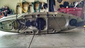 Garage Ceiling Kayak Hoist by Hobie Forums U2022 View Topic Kayak Hoist Question