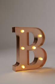Letter Light T The Vintage Industrial