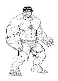 Download Coloring Pages Incredible Hulk Auromas To