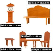 eyepower backblech puppenhaus möbel set wohnzimmer puppenmöbel holz set holz puppen zubehör braun kaufen otto