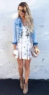 If The Dress Were A Little Longer Itd Be Perfect But I Do Love Jacket Booties Combo