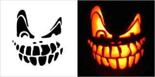 Pumpkin Carving Witch Face Template by Witch Face Stencil Vector Carved Pumpkin Free Vector For Free