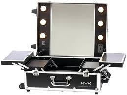 lights wall mounted lighted makeup mirrors portable vanity