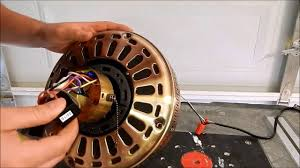 Hampton Bay 3 Speed Ceiling Fan Capacitor by Rebuilding A Brass Hampton Bay Ceiling Fan Youtube