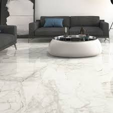 pamesa luni blanco white marble effect floor tile with a gloss surface