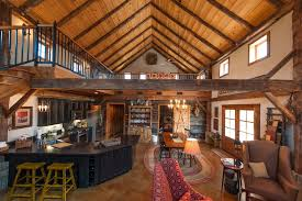 Pole Barn House Living Room Rustic With Counter Stools Traditional Pub And Bistro Sets