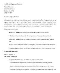 Call Center Resume Examples Example 9 Free Word Documents For Manager Supervisor Quality Assurance