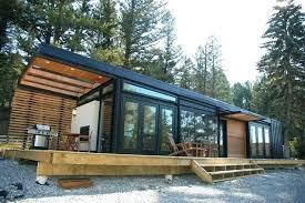 Prefabricated Cabins Modern Cabin Prairie Perch Modern Modular