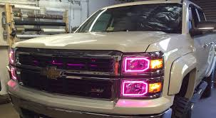 Oracle Color Changing Headlight And Foglight Halo Kits For Chevy ... 881998 Chevy Truck 8piece Black Halo Headlights Set Wxenon Bulbs Billet Front End Dress Up Kit With 7 Single Round 1973 Lumen Ck Pickup 1964 Projector Led Dna Motoring For 0306 Silveradoavalanche 4pc Headlight 5 Inch 1958 Wiring Diagrams Schematics 03 04 05 06 Silverado 1500 Tail Lights Parking Light 9499 Suburban Blazer Headlamps Light Blue Trucks Elegant Chevrolet Colorado Crew Cab Photo 9902 1 Piece Grille Cversion Dash In 2017 Are Awesome The Drive 072014 Tahoe Avalanche Tron Style Neon Tube