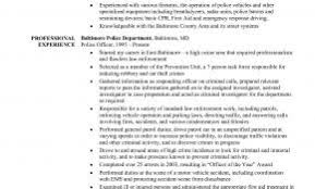 Nypd Police Officer Resume Examples Luxury Ficer Of Resumes
