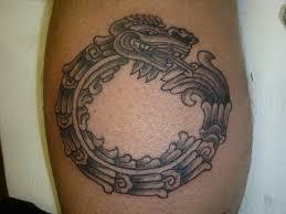 Ztec Calendar Tattoo Aztec Maya Dragon Incredible Tribal Tattoos 5369043