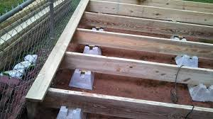 Deck Joist Hangers Nz by Deck Joists How Far Apart Deck Design And Ideas