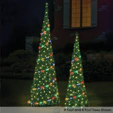 6ft Pre Lit Pop Up Christmas Tree by Pop Up Christmas Tree Disney Pop Up 6 Foot Prelit Christmas Tree