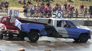Pickup Trucks Demolition Derby-the Best Hits,crashes And Fire - YouTube