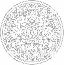 Free Sample From Arabic Floral Patterns Coloring Book