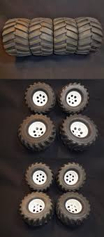 100 New Truck Tires Wheels Rims And Hubs 182201 Rc Monster 1 10 Cen