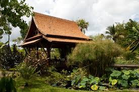 Asian Garden Wooden Pavilion