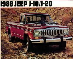 100 Old Jeep Trucks 1986 J10 J20 Ad Cool Classic 4x4s Dude