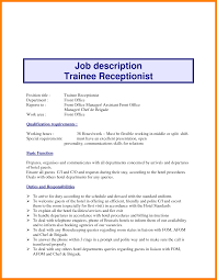 Front Desk Resume Job Description by Office Marketing Manager Dental Assistant Receptionist Jobs In