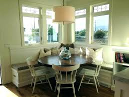 Corner Bench Dining Room Table Seat Hack Kitchen Popular Set