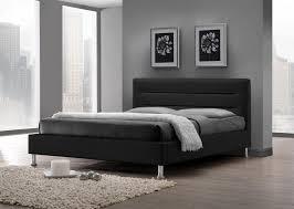 chambre adulte noir lit adulte design coloris noir lit chevet adulte lit