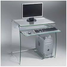 bureau ordinateur en verre bureaux meubles et rangements pocket bureau pour ordinateur en