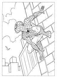 Fresh Spider Man Color Page Top Design Ideas For You