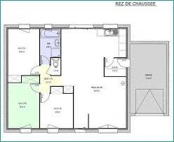 plan maison plain pied 3 chambre plan maison plain pied moderne beau plan maison contemporaine plain