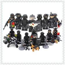 SWAT Minifigures 8-Pack With Dog, Weapons & Accessories – The Brick ... Lego Creations Swat Suv Games For Kids With Best Online Price In Malaysia Lego Truck Moc Building Itructions Youtube Custommoc Truck And Jeep New Designs Lenco Bearcat Griffs Custom Lego Weapons Swat Team Custombricksde Custom Moc City Police Gign Raid Gru Van For Sale Hot Wheels Combat Medic Review 708 Super Cycle Chase Rebrickable Build With Movie The Hobby Heaven