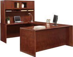 Realspace Broadstreet Contoured U Shaped Desk Dimensions by U Shaped Desk Executive Office Set Officefurniture National