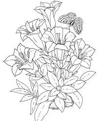 Picture Free Printable Flower Coloring Pages For Adults 42 Your Kids With
