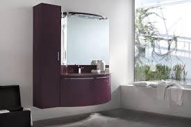 badezimmer schrank mit hängenden säule abgerundeten türen