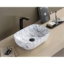 inart keramik waschbecken arbeitsplatte waschbecken für