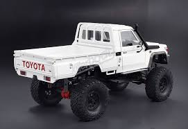 RC 1/10 Truck HARD Body Shell TOYOTA LAND CRUISER LC70 PICK UP AXIAL ... 58519 Tamiya Toyota Bruiser 110th Rc Kit Radio Control 110 Truck Toyota Hilux Rn36 Rctwister Tamiya Highlift Electric 4x4 Scale Truck Kit Tam58397 Venture Fj Cruiser Mystery Vehicle Big Squid Axial Scx10 Crawler Hillux Body Crawlers Tundra High Lift Brushed Model Car 4x4 Vintage 1981 Sold Antique Toys For Sale Builds A Modern Fullsize Bruiser Tamiyablog Traxxas Kyle Busch Race Vxl 7321 Out Of The Box Radio Shack Offroad Monsters Pickup Has Disco Lights Nostalgia Kicks In